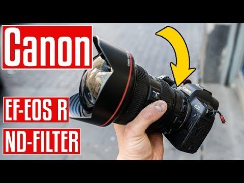 Canon EOS R Zubehör! EF-EOS R Drop-In Filter V-ND für EF und EF-S Objektive