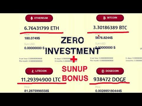 New Free Mining Website Earn Free [BTC,LTC, DOGECOIN,USD DOLLAR] + Sinup Bonus Instant ?