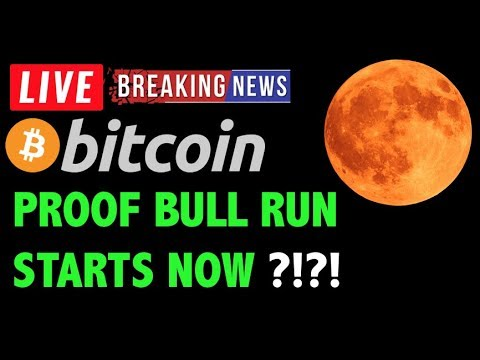 Bitcoin PROOF THE BULL RUN STARTS NOW?! -LIVE Crypto Trading Analysis & BTC Cryptocurrency News 2019