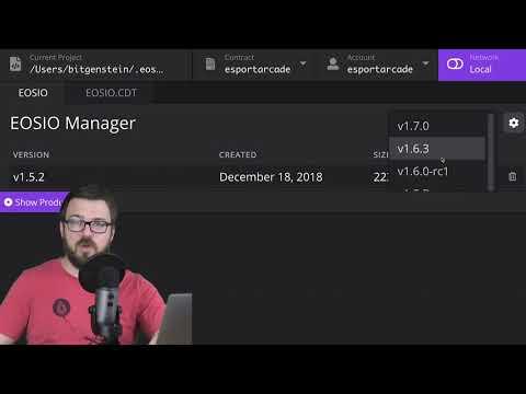 Sneak Peak: Setting Up Your Development Environment using EOS Studio (EOSIO Developer Courses)