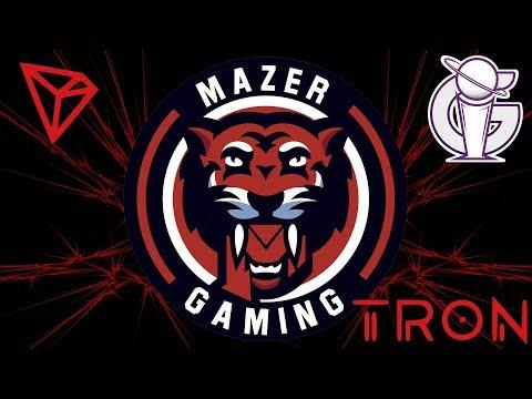 TRON TRX MAZER GAMING MGG! XBOX GIVEAWAY! PROFESSIONAL ESPORTS GAMING ORGANIZATION!