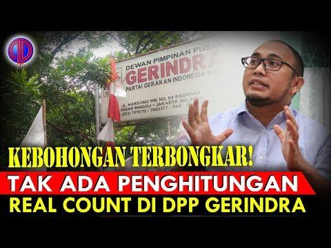 Keb0h0ngan Terb0ngk4r! Tak Ada Penghitungan Real Count di DPP Gerindra