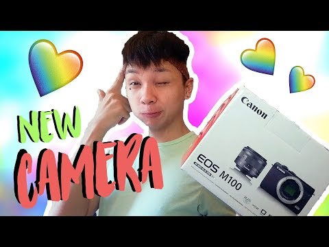 UNBOXING MY NEW CAM | CANON EOS M100 | (Thanks DWCC) | VLOG #7