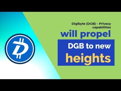 Digibyte (DGB) – Privacy capabilities will propel DGB to new heights