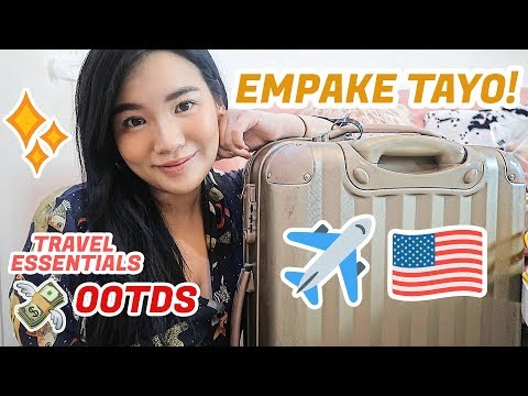 PACK WITH ME! (OOTDS, TRAVEL ESSENTIALS) + I'M IN CHICAGO!   Toni Sia