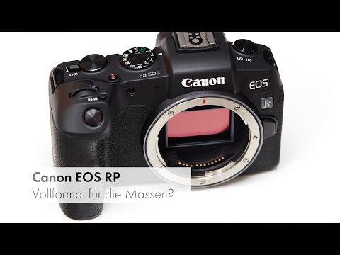 Canon EOS RP | Vollformat-DSLM im Unboxing + SD-Karten Test [Deutsch]
