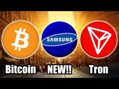 THIS IS BIG! Samsung's NEW Blockchain Mainnet w/ Samsung Coin | NEW Tron Sponsorship | Bitcoin News