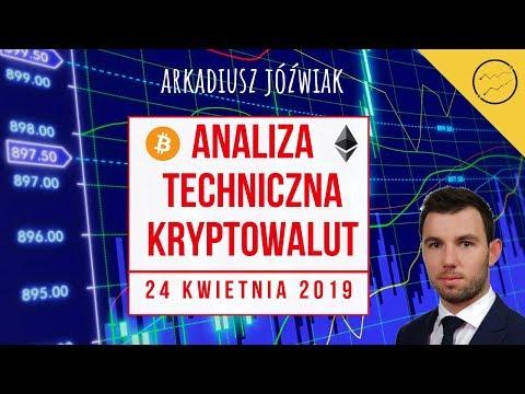 Analiza techniczna kryptowalut – 24.04.2019 – BTC, ETH, EOS, ADA, Lisk, BCD, BCN, AE, Pundi-X, Golem
