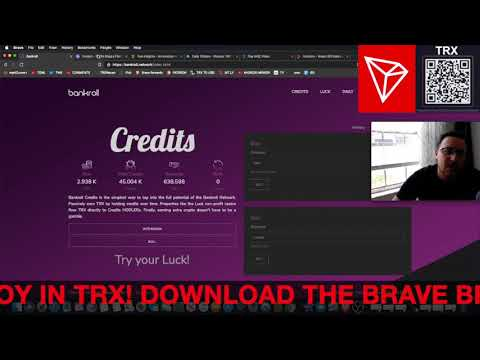 BANKROLL CREDITS 42M TRX IN CONTRACT! TRON TRX