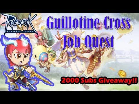 Guillotine Cross Job Quest & Giveaway BCC + Premium [Ragnarok Mobile]