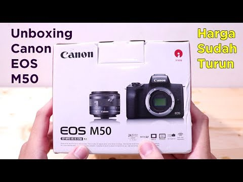 Unboxing Canon EOS M50, sudah turun loh harga guys – ReviewGadgetIndonesia
