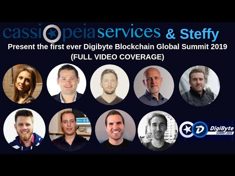 DigiByte Summit Amsterdam 2019 FULL VIDEO