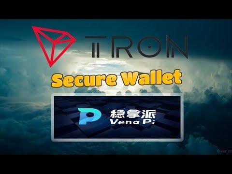 TRON (TRX) Venapi Is The Most Secure Tron Wallet : 1000 Tron Giveaway!