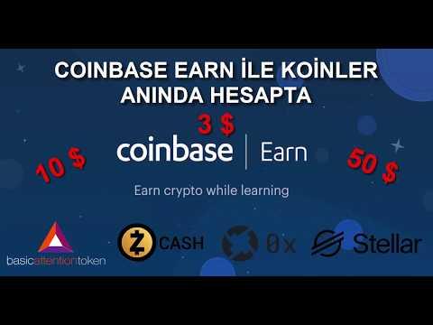 Coinbase Earn ile Soru Cevapla Koin Kazan | ZCash-BAT-0x-XLM | ZCash Nedir?