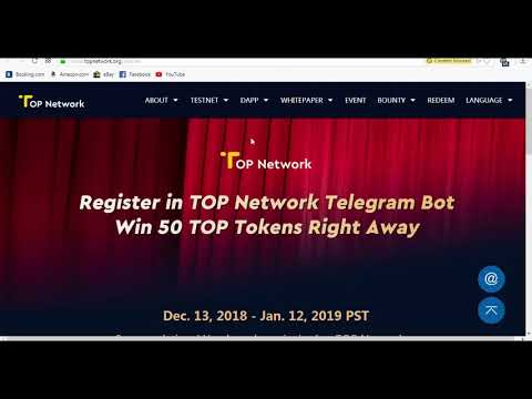 Get CRE and RFR Token|Join TOP Token Telegram Bounty and Earn TOP Tokens