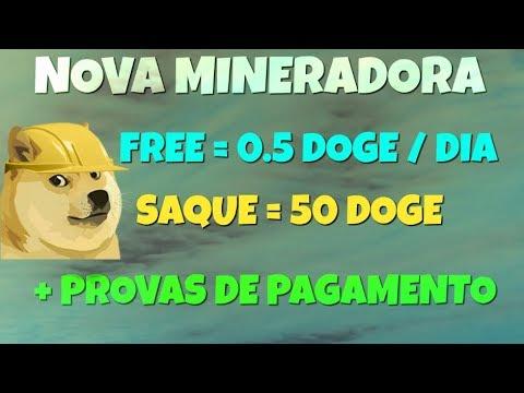 Nova Mineradora DOGE DogeMore e Plataforma DogeDay | + Provas de Pagamento