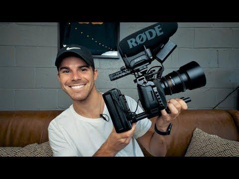 The Ultimate BMPCC4K Handheld Rig ft. Physics   Blackmagic Pocket Cinema Camera 4K