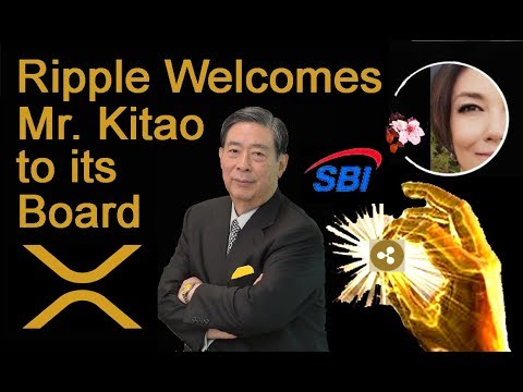 Ripple Announces SBI CEO Mr. Kitao to the Board, Tether Trouble, XRP 's own Tiffany Hayden