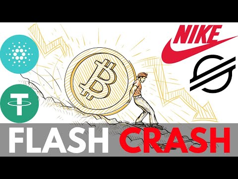 Bitcoin Flash Crash, What Caused It? Tether Trouble, Nike Launching Crypto, Cardano Price, Stellar