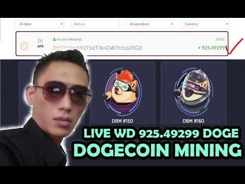 Legit & Instant WD! Tarik 927 Dogecoin – cloud mining dogecoin legit