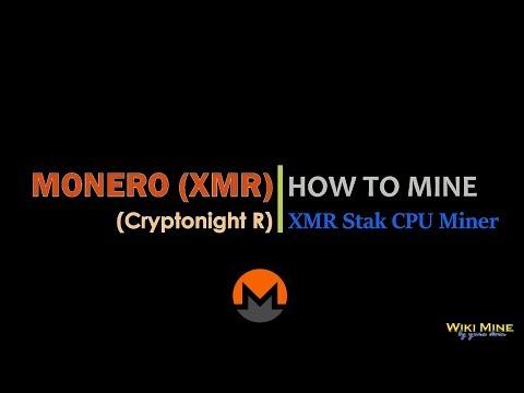 How to mine Monero (Cryptonight R) XMR Stak miner