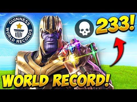 *WORLD RECORD* 233 KILLS AS THANOS! – Fortnite Funny Fails and WTF Moments! #539