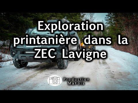 Exploration printanière dans la ZEC Lavigne