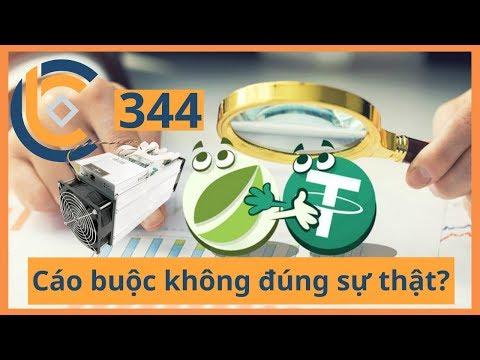 #344 – Tether tiền chỉ bị đóng băng + PAX + ProgPOW  | Cryptocurrency | Tiền Kỹ Thuật Số | Tài Chín