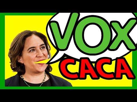 🙄🙄🙄ADA COLAU INSULTA A VOX (otra vez) en su CANAL de YOUTUBE – La Nicoteca