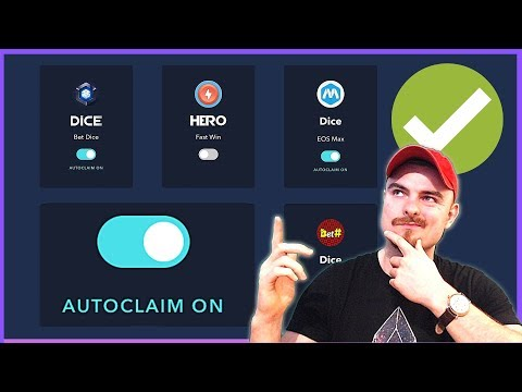 How To Auto Claim All EOS Dividends – Eosbots.io – EOS Dividend Platforms