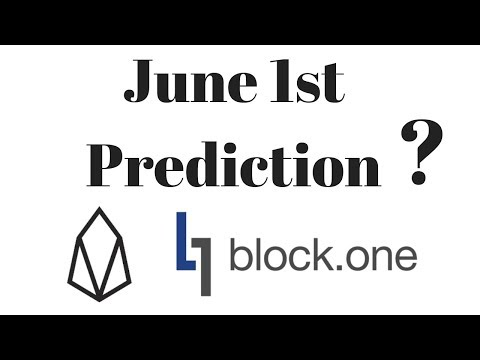 Block.One June 1st Prediction – EOS