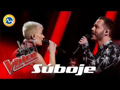 Wengová a Révay – Dusk Till Dawn (Sia feat. Zayn) – Súboje – The VOICE Česko Slovensko 2019