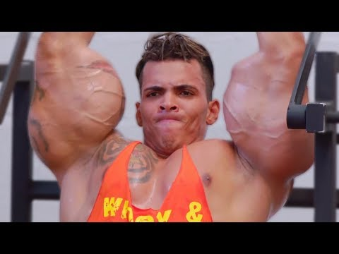 This Bodybuilder Is On The Verge Of Exploding