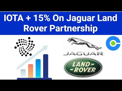 IOTA Moons On Jaguar Land Rover Partnership / Warning About Ledger Wallet Malware