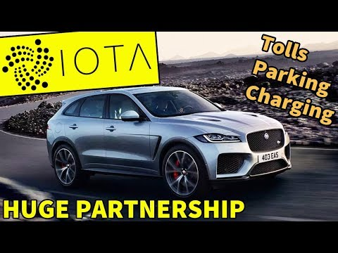 Jaguar Land Rover Offers Drivers Cryptocurrency For Driving Data – IOTA for Tolls, Parking, Charging