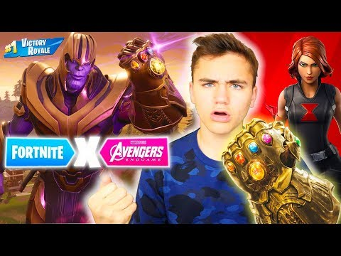 J'AIDE THANOS À FAIRE TOP 1 ! – MODE AVENGERS ENDGAME  – FORTNITE BATTLE ROYALE – Néo The One