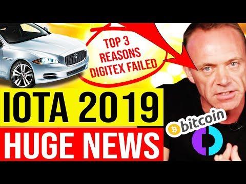 😡 DIGITEX MISERABLE FAIL ($DGTX -80%) 😱 BIG IOTA NEWS 2019