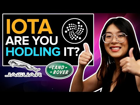 IOTA, are you HODLING it? We Have HUGE NEWS!