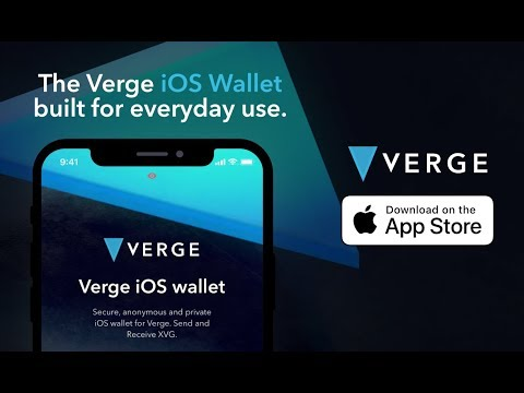 Verge Currency | IOS Wallet Release
