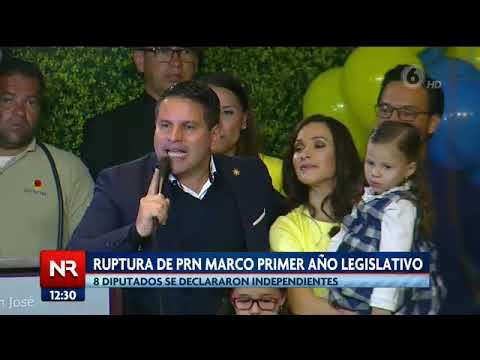 Ruptura de PRN marcó primer año legislativo