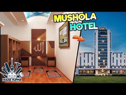 ADA MUSHOLA DI HOTEL 😱 – HOUSE FLIPPER INDONESIA Eps.35
