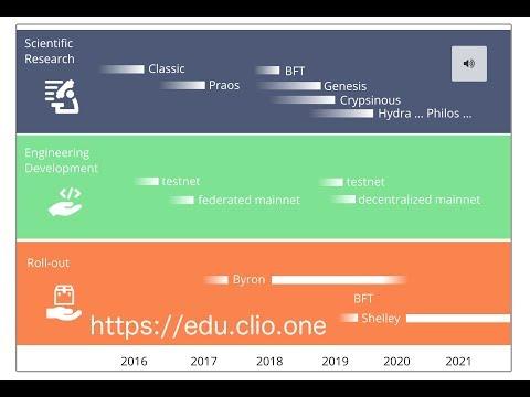 Coarse Cardano Roadmap estimate on Clio.One (May 2019)