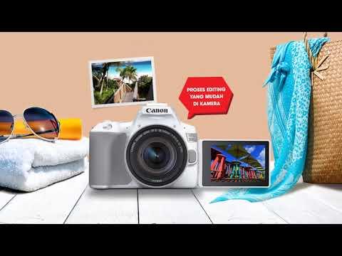 Buat Fotografimu Lebih Bergaya – Canon EOS 200D II