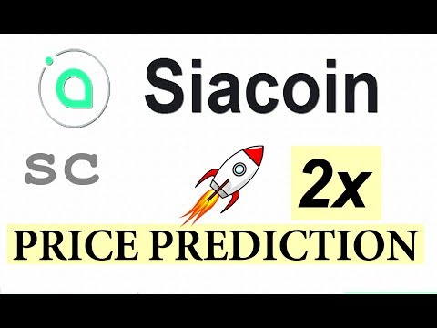 SIACOIN (SC) PRICE PREDICTION  | SIACOIN MINING #SIACOIN LATEST NEWS  #GAMESZCRYPTO 25 APRIL 2019