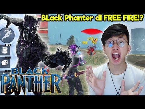 HERO AVENGERS ADA DI FREE FIRE !? BLACK PHANTER ! – FREE FIRE INDONESIA