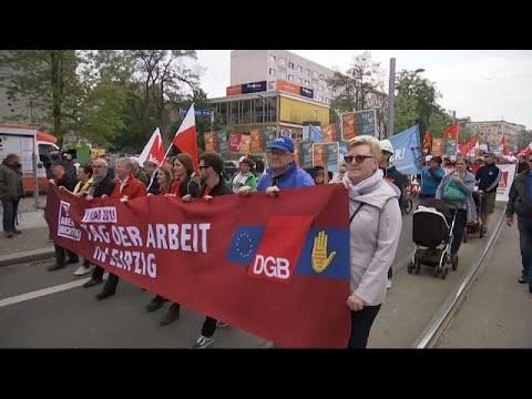 Tag der Arbeit: DGB wirbt für Europa