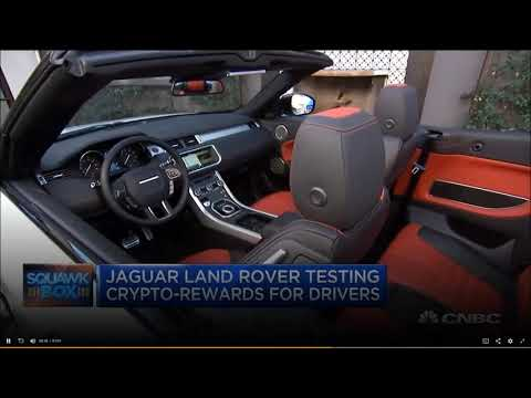 CNBC – Jaguar Land Rover is testing Crypto rewards for drivers – IOTA