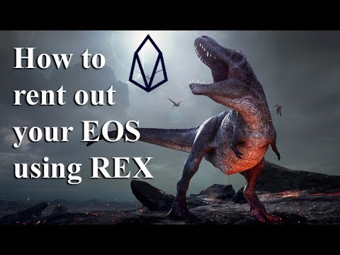 How to rent out your EOS using EOSAuthority's REX UI