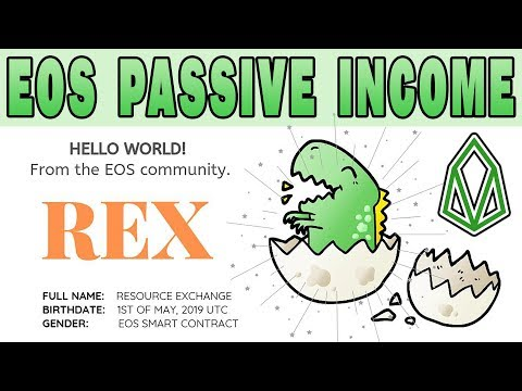 REX is live! How to loan your EOS on REX for profit. It's very easy!