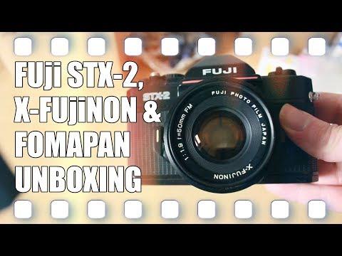 Fuji STX-2 & Fomapan Unboxing 🎞️ Analog Fotografie